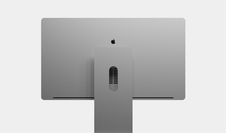 Apple Silicon iMac Pro Design Shared by Tipster Shows Boxier Design, Multiple USB-C Ports & Space Gray Finish