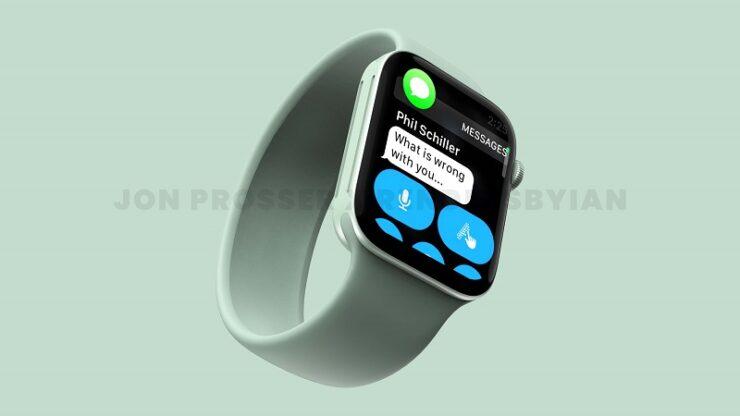 Apple Watch Series 7 Design Leak