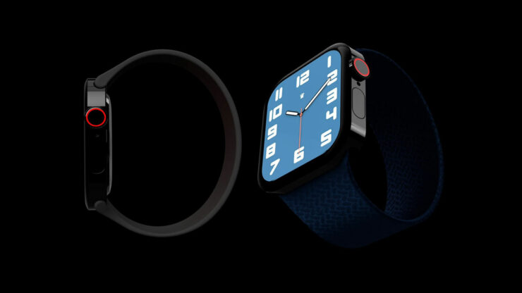 Apple Watch Series 7 May Adopt a Flat-Edge Design Like iPhone 12, and Arrive in New Color Option