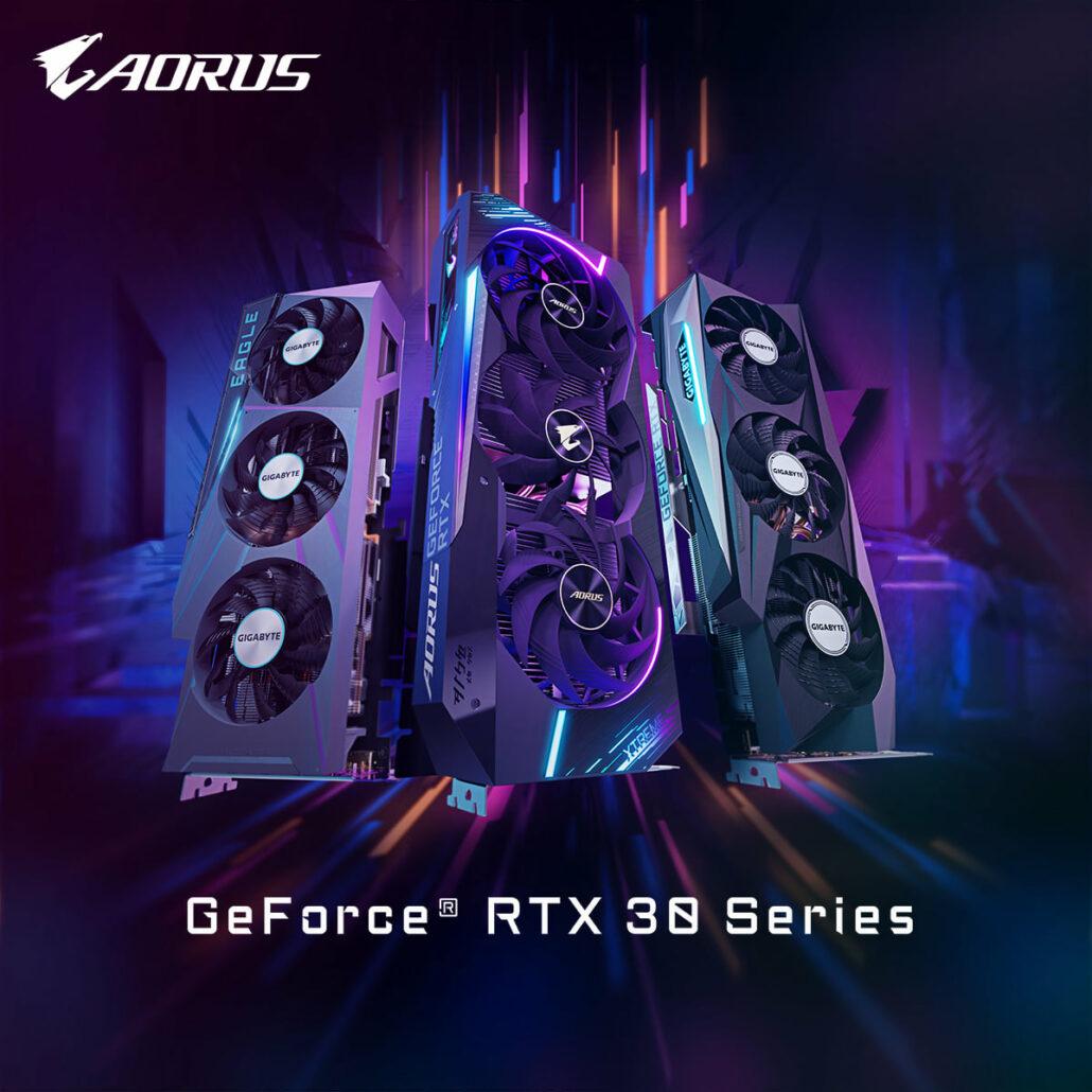 Gigabyte GeForce RTX 3080 Ti Custom Graphics Cards