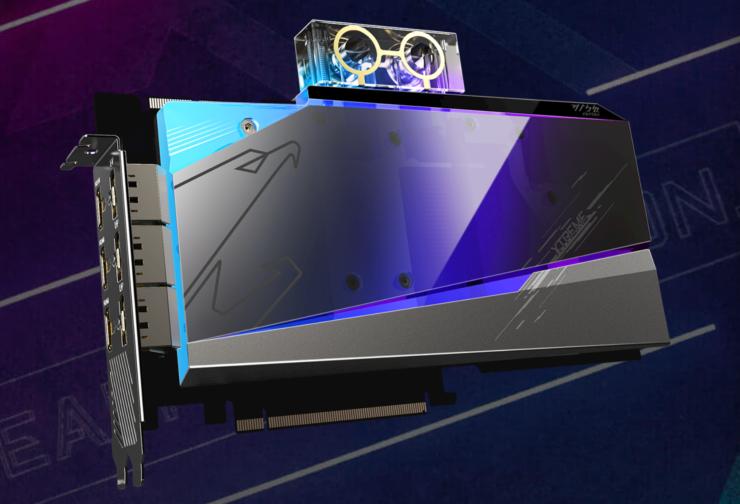 Gigabyte Radeon RX 6900 XT AORUS Xtreme Waterforce WB Graphics Card