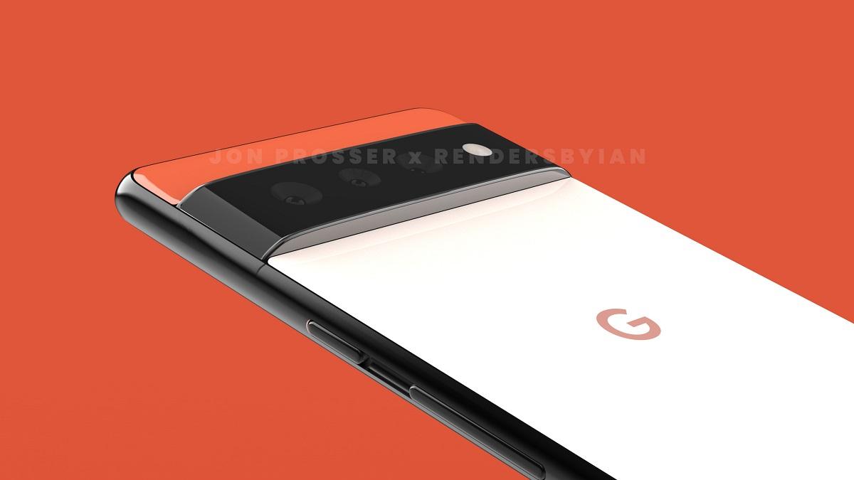 Google Pixel 6 Pro Renders Leak