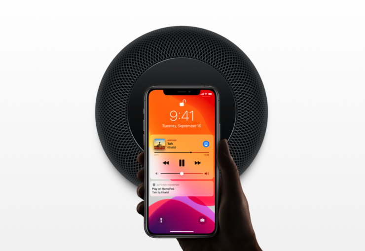 HomePod Apple TV hybrid with screen and speakers for facetime