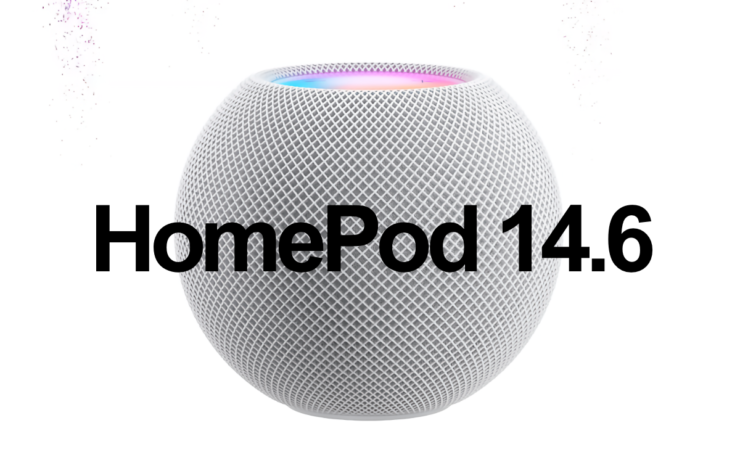 HomePod and HomePod mini 14.6 update now available for download