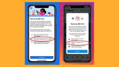 Facebook and Instagram is asking iPhone users to enable tracking
