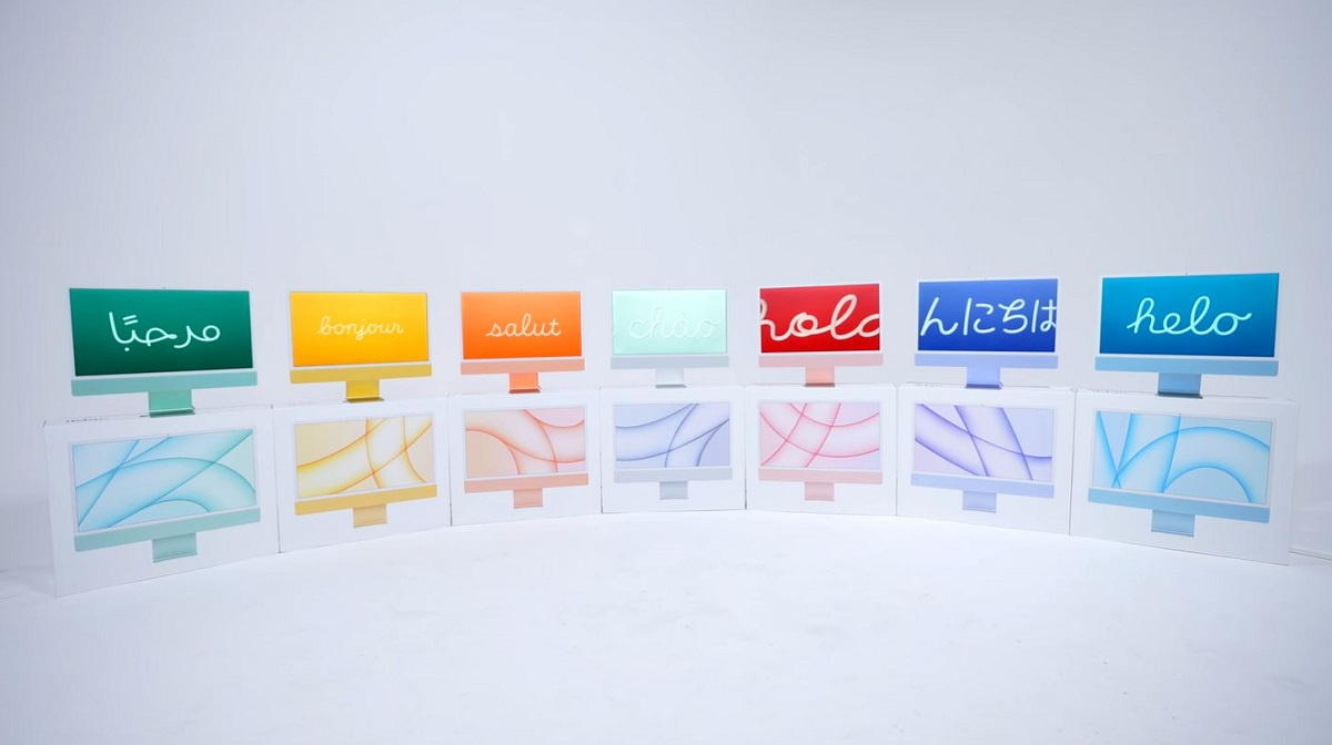 M1 iMac Colors Unboxed