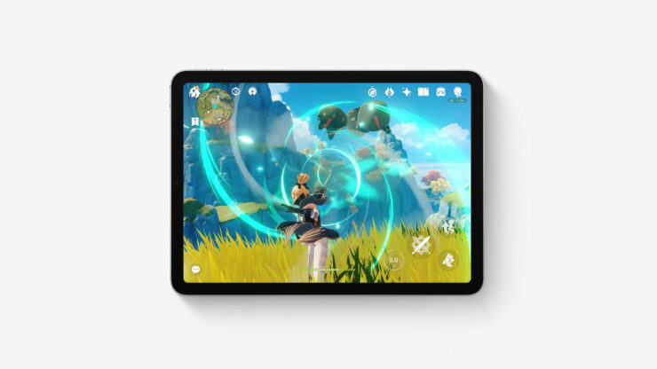 M1 iPad Pro Combined CPU, GPU Load in Intense Gaming Session Consumes 20 Watts