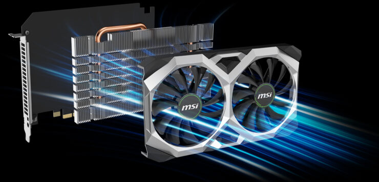 MSI NVIDIA CMP 30HX Miner XS Graphics Card For Cryptocurrency Mining