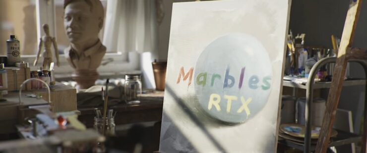 Marbles RTX Demo