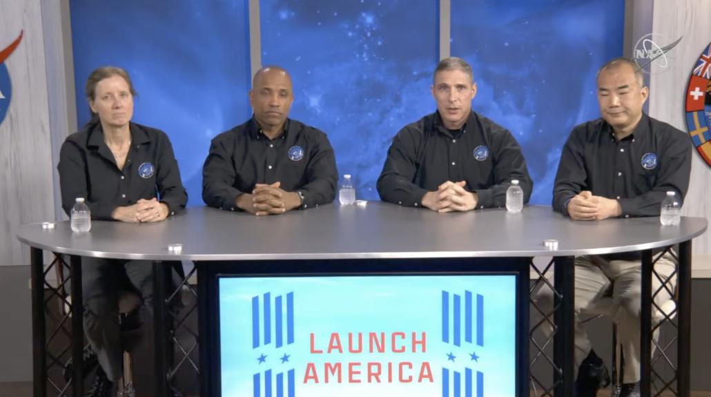NASA astronaut SpaceX Crew Dragon