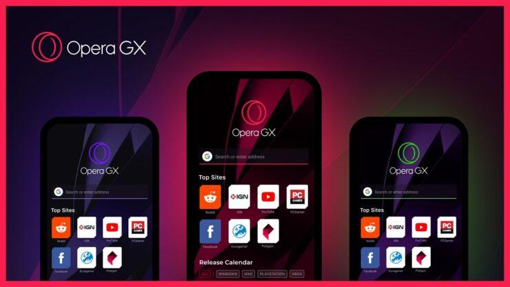Opera GX iOS and Android beta