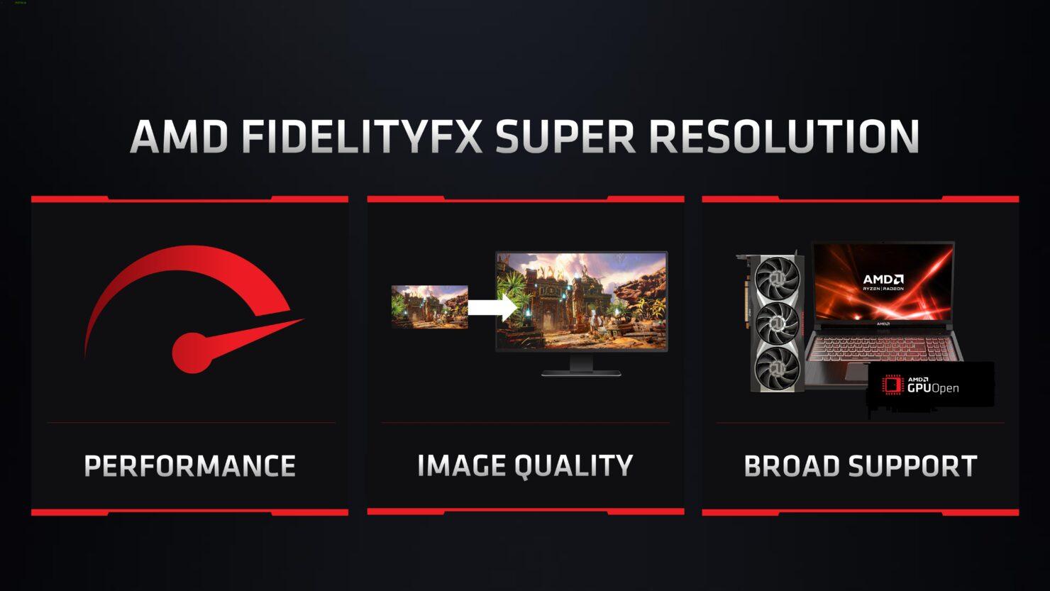 AMD DLSS Competitor, FSR 'FidelityFX Super Resolution' Demoed on Radeon RX 6800 XT