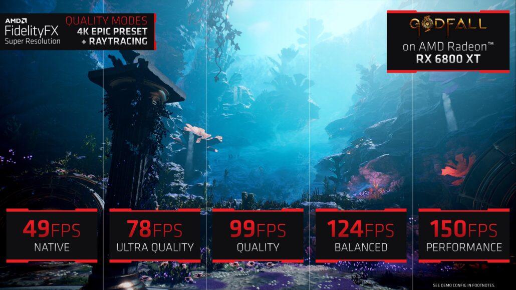 AMD DLSS Competitor, FSR 'FidelityFX Super Resolution' Demoed on Radeon RX 6800 XT 1