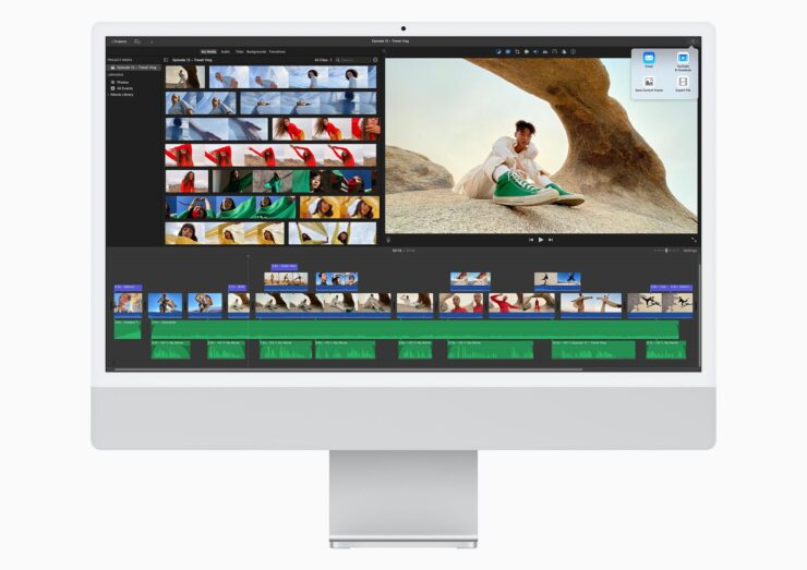 M1 iMac Thrashes Apple's Previous-Generation All-in-One With up to a 56 Percent Multi-Core Performance Boost