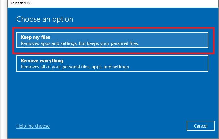 Windows 10 Fast Boot