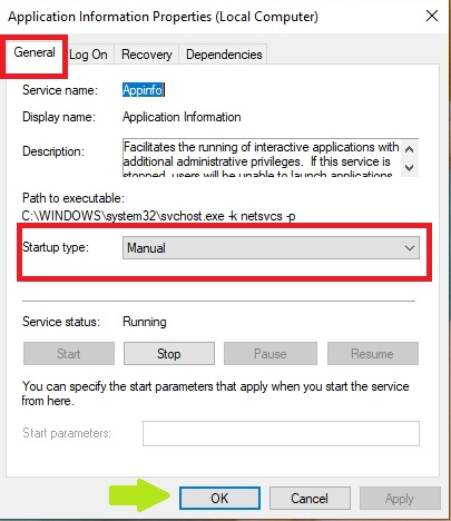 Services Application
