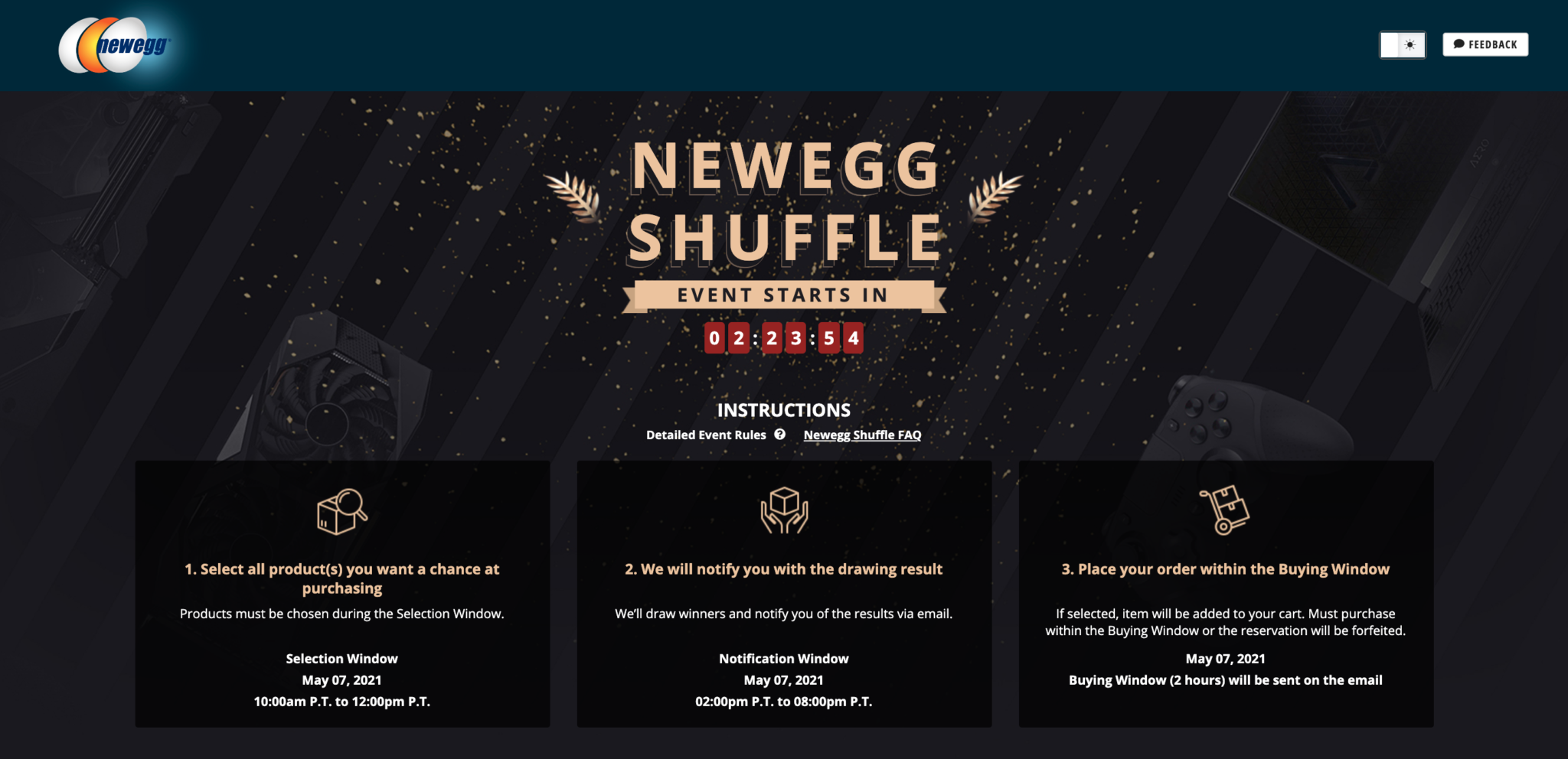 Newegg Shuffle – May 7th: Multiple NVIDIA GeForce RTX 3090 Graphics & AMD Radeon RX 6900 XT Graphics Cards Available In Today's Shuffle