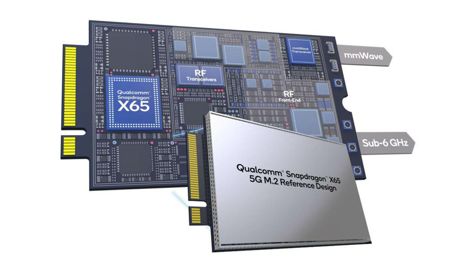 Qualcomm Is Introducing Plug-and-Play M.2 Snapdragon X65 5G Modems That You Can Easily Slot in Your Laptops