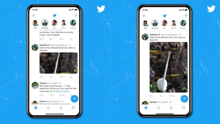 Twitter for iOS and Android now support taller image previews in timeline