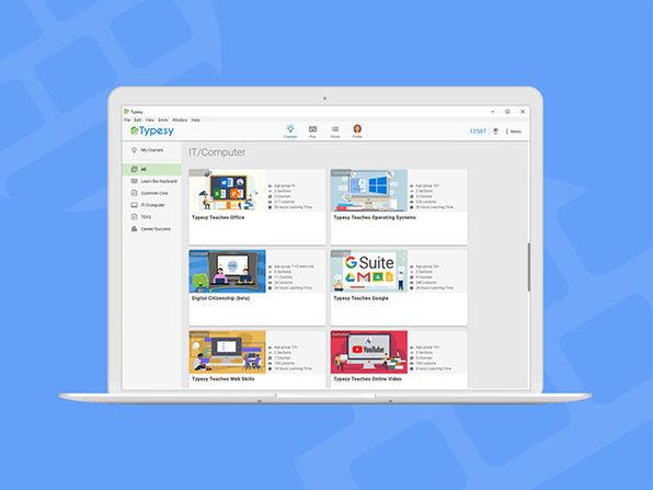 Typesy Teaches Microsoft Office: Lifetime Membership