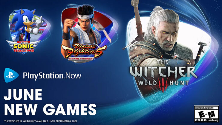 The Witcher 3 PS Now