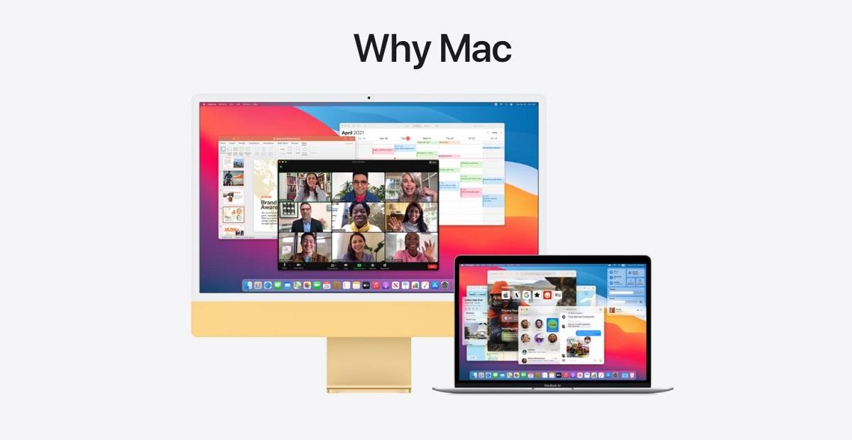 Apple's new website called Why Mac Why buy Mac