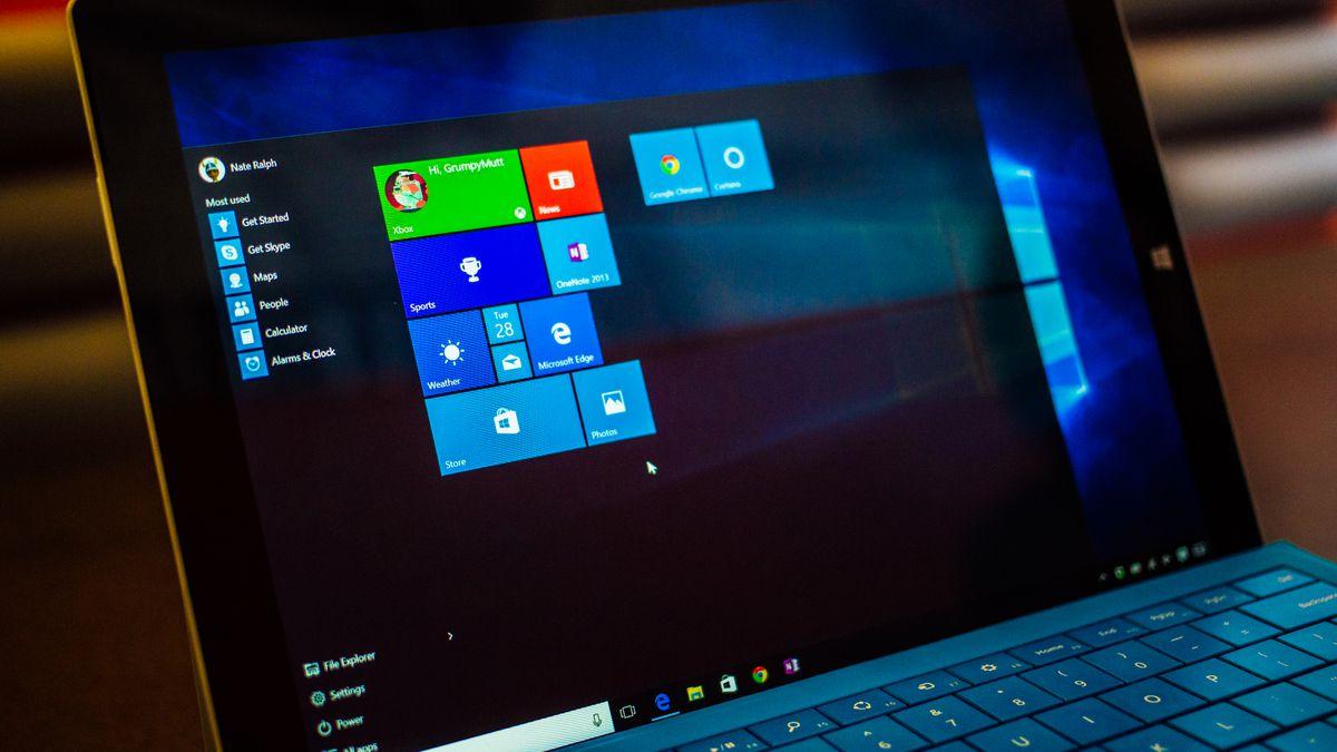 Windows 10 Services Application