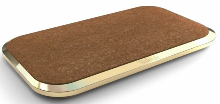 Gold and Fleece Wireless Charger for $250,000