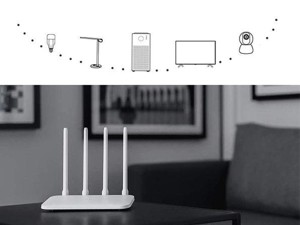 Xiaomi 4-Antenna WiFi Router
