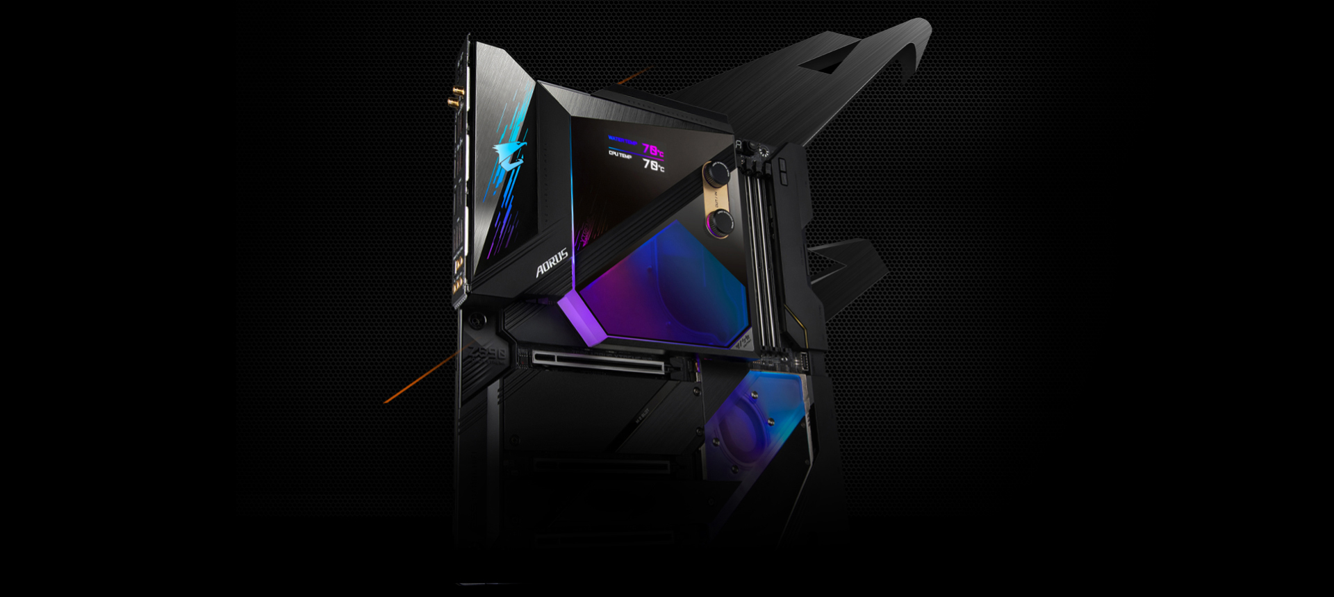 Gigabyte Z590 AORUS Xtreme Waterforce Lands At Newegg For A Whopping $1600, Features LED Readouts On The Stunning Monoblock