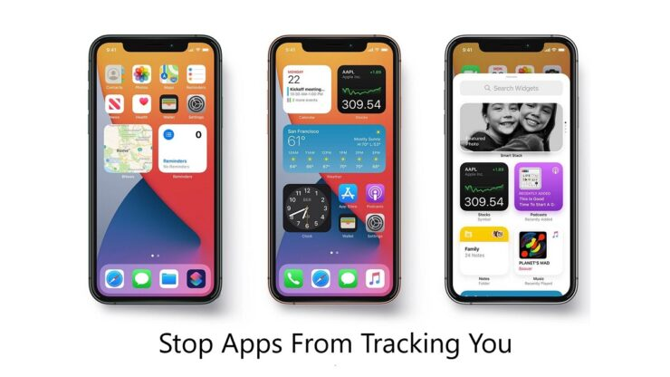 iOS 14.5 App Tracking disabled