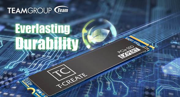 TeamGroup Advertises Its T-Create Expert PCIe SSDs As A Powerful Tool For Mining Chia Coin Cryptocurrency, Backed By a 12-Year Warranty