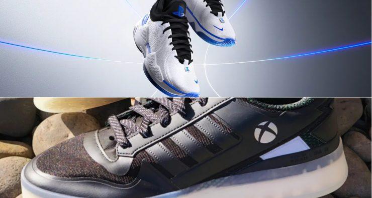 PlayStation vs Xbox shoes