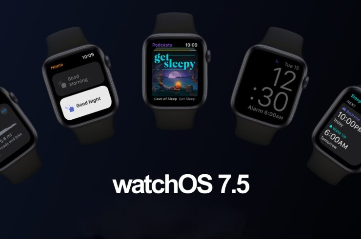 Download watchOS 7.5 for Apple Watch
