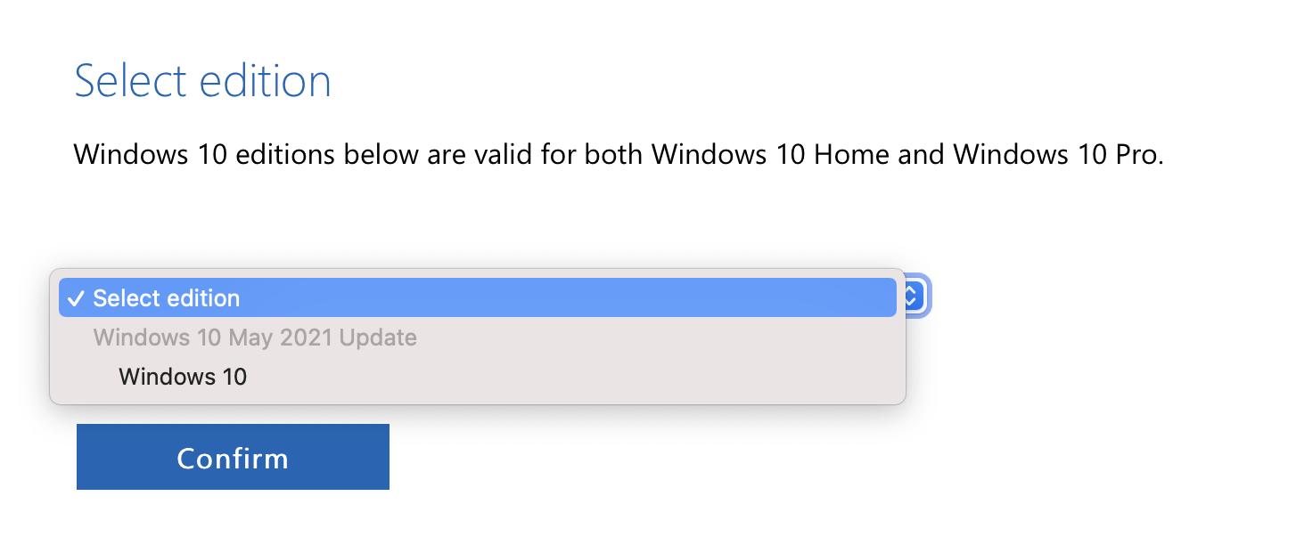 windows 10 21h1 iso