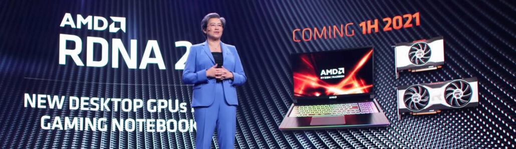 AMD CES RX6000M