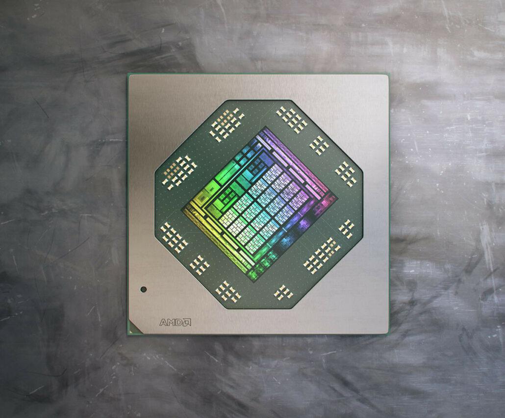AMD Navi 23 Radeon PRO W6600M GPU