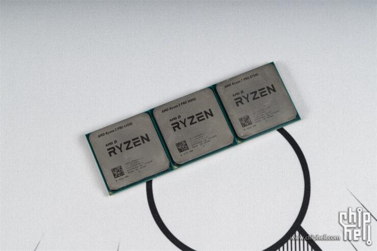 AMD Ryzen PRO 5000G Cezanne Ryzen 7 5750G, Ryzen 5 5650G & Ryzen 3 5350G Retail 'Zen 3' Desktop APUs Tested 1