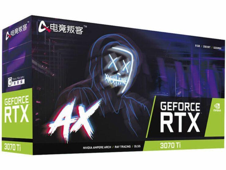 AXGR GeForce RTX 3070 Ti X3B