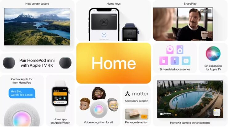 Apple Home Features