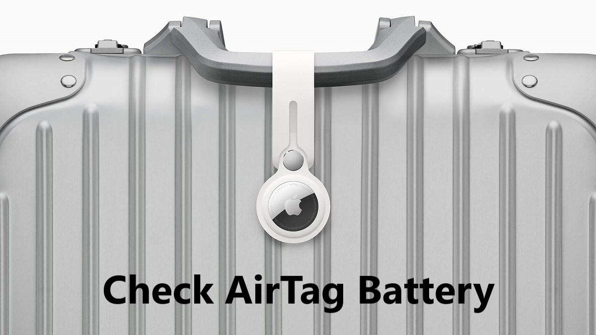 How to Check AirTag Battery