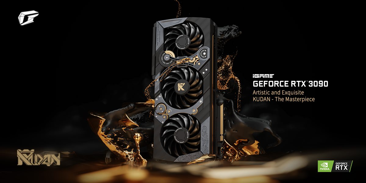Colorful Officially Shows Off Its Flagship GeForce RTX 3090 iGAME KUDAN Graphics Card, The Most Expensive Ampere Ever Made!