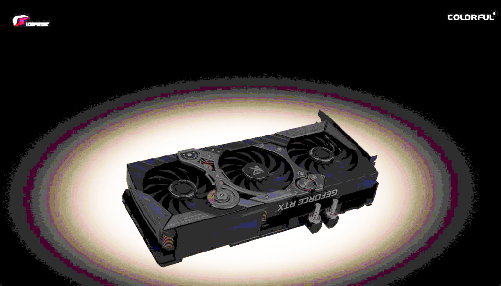 Colorful's GeForce RTX 3090 iGame KUDAN graphics card has been exposed.