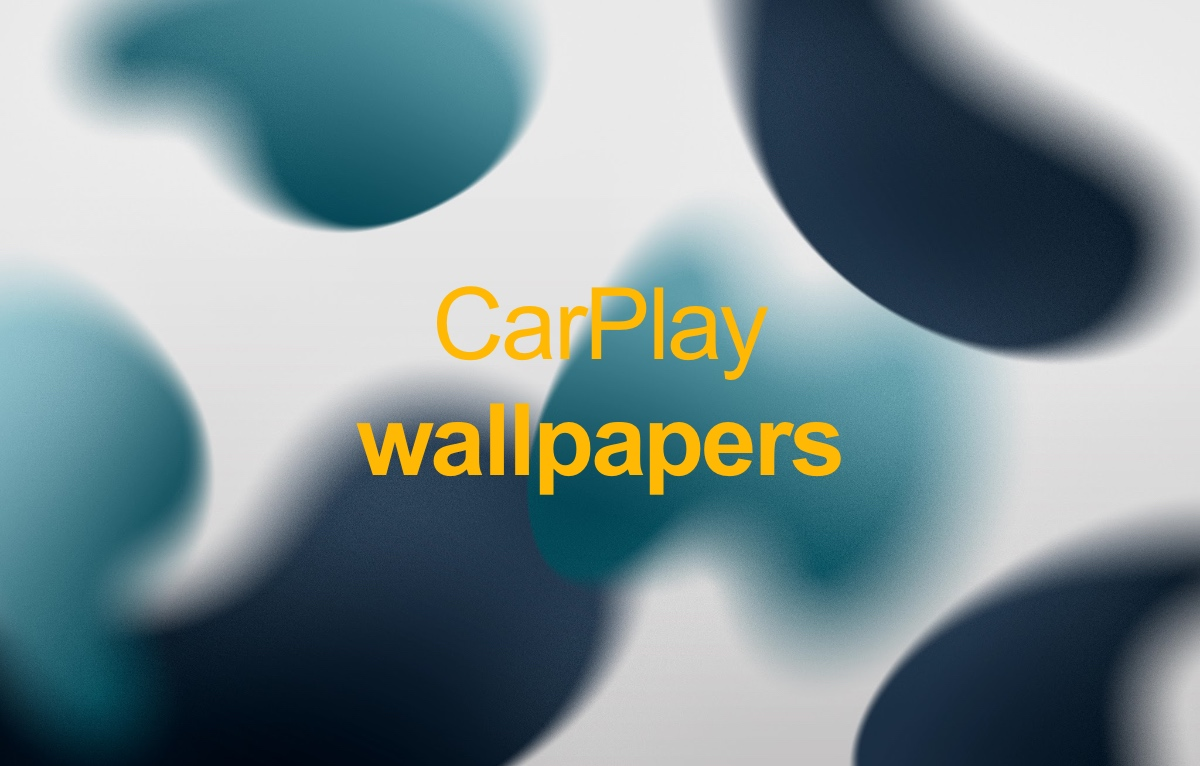 Download iOS 15 CarPlay wallpapers