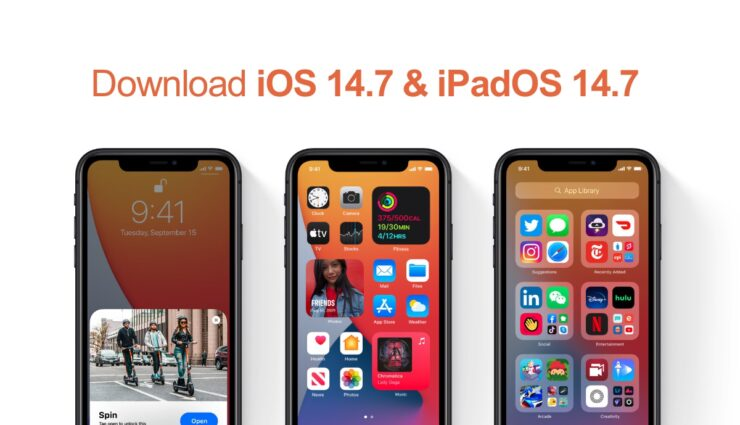 Download iOS 14.7 and iPadOS 14.7 updates for iPhone and iPad