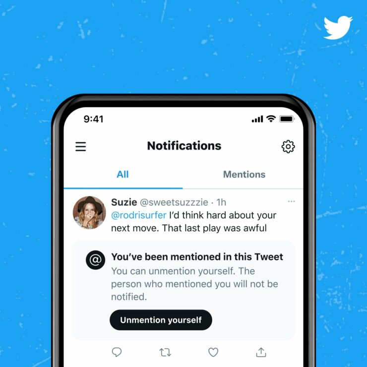 Twitter Could Soon Let You 'Unmention' Yourself from Tweets and Stop People from Tagging You