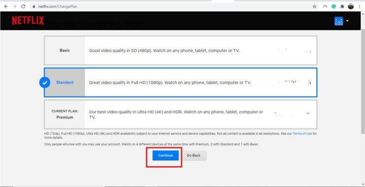 Fix Netflix video quality
