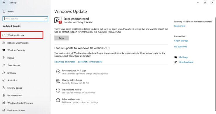 Windows Update