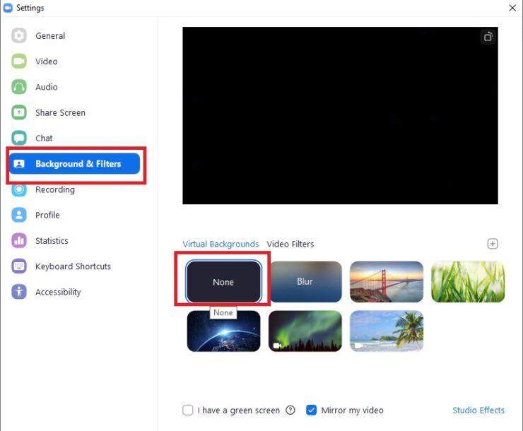 Fix Zoom Video Lag