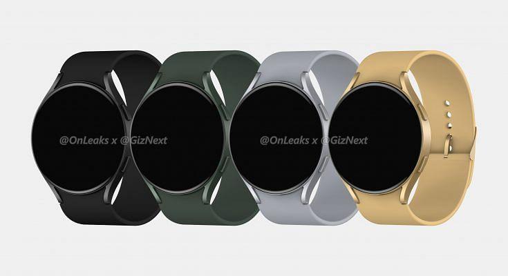 Galaxy Watch Active 4 Renders Show a Utilitarian, Round Design